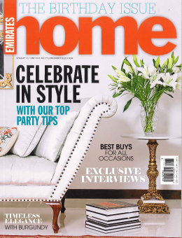 Emirateshome juni 2014 cover
