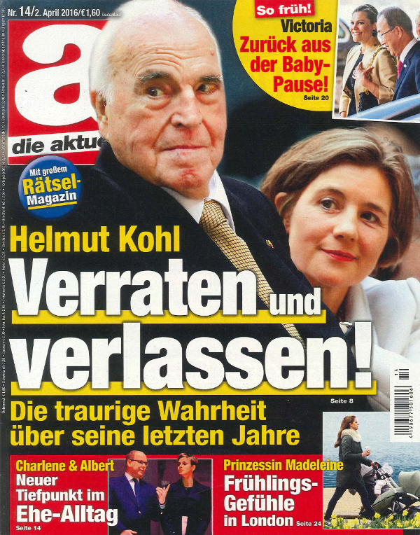 Duitsland dieaktuelle april 2016 cover
