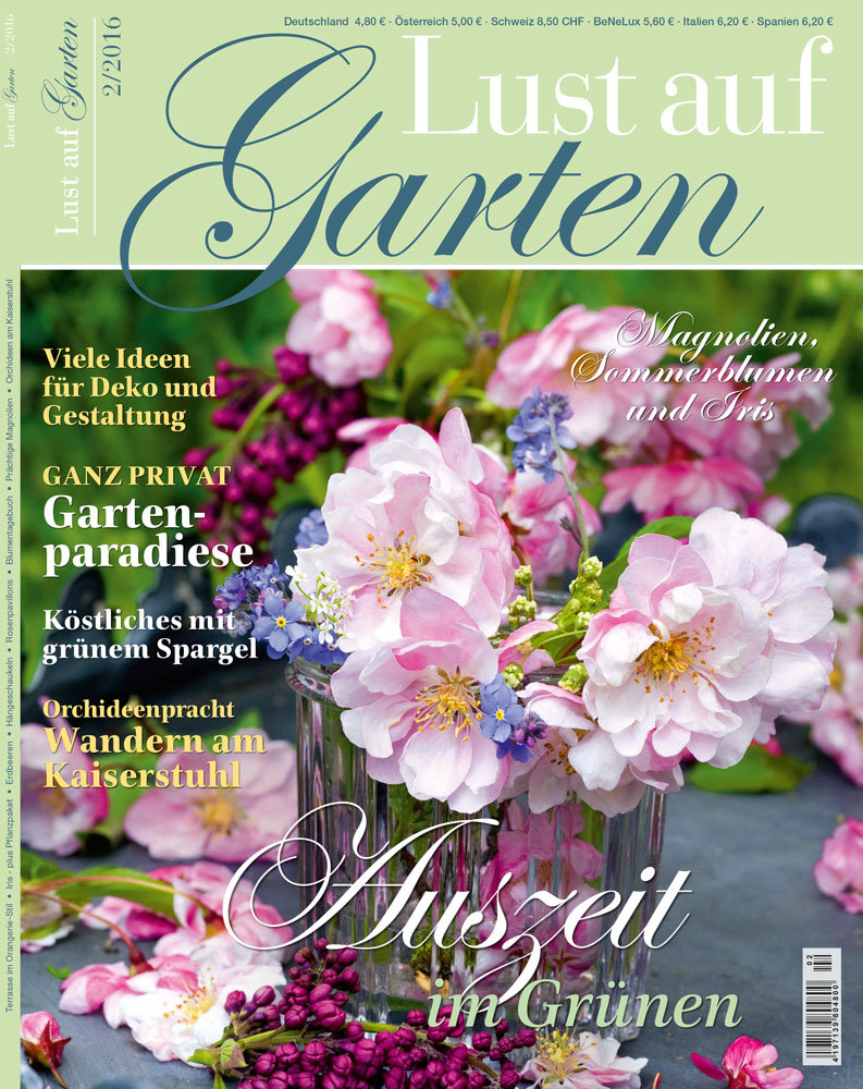 Duitsland lustaufgarten april 2016 cover