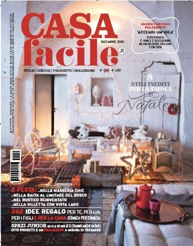 It casafacile december 2015 cover