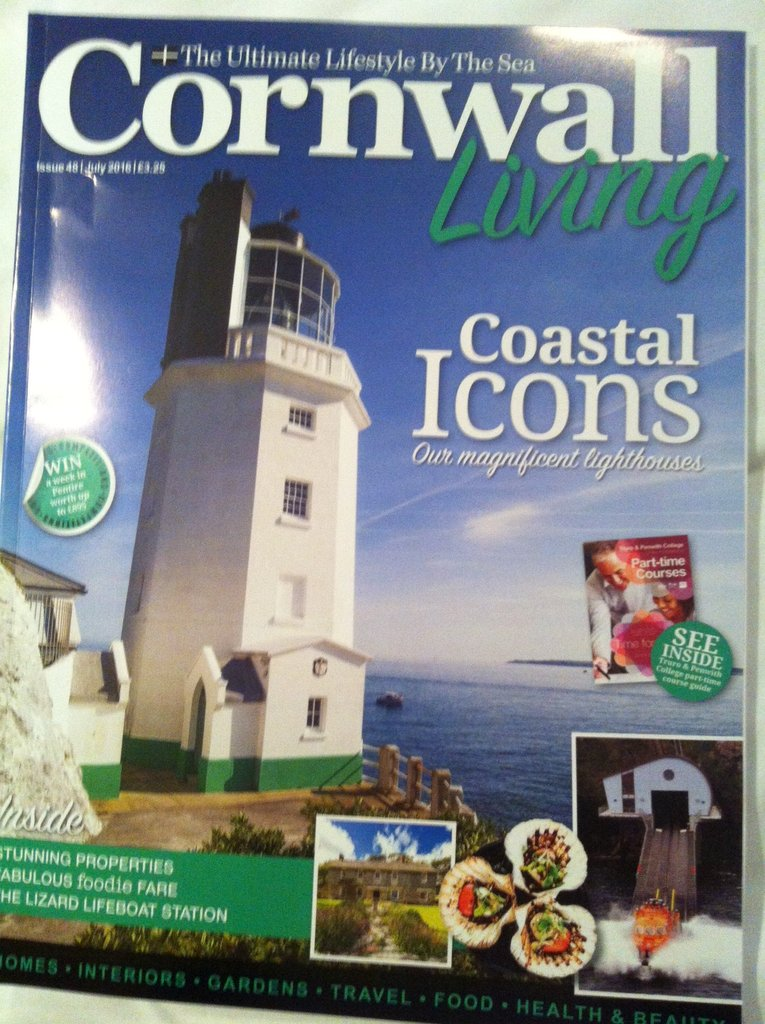 Uk cornwallliving juli 2016 cover
