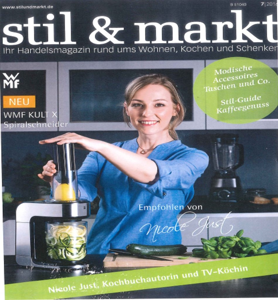 De stil markt july 2016 cover