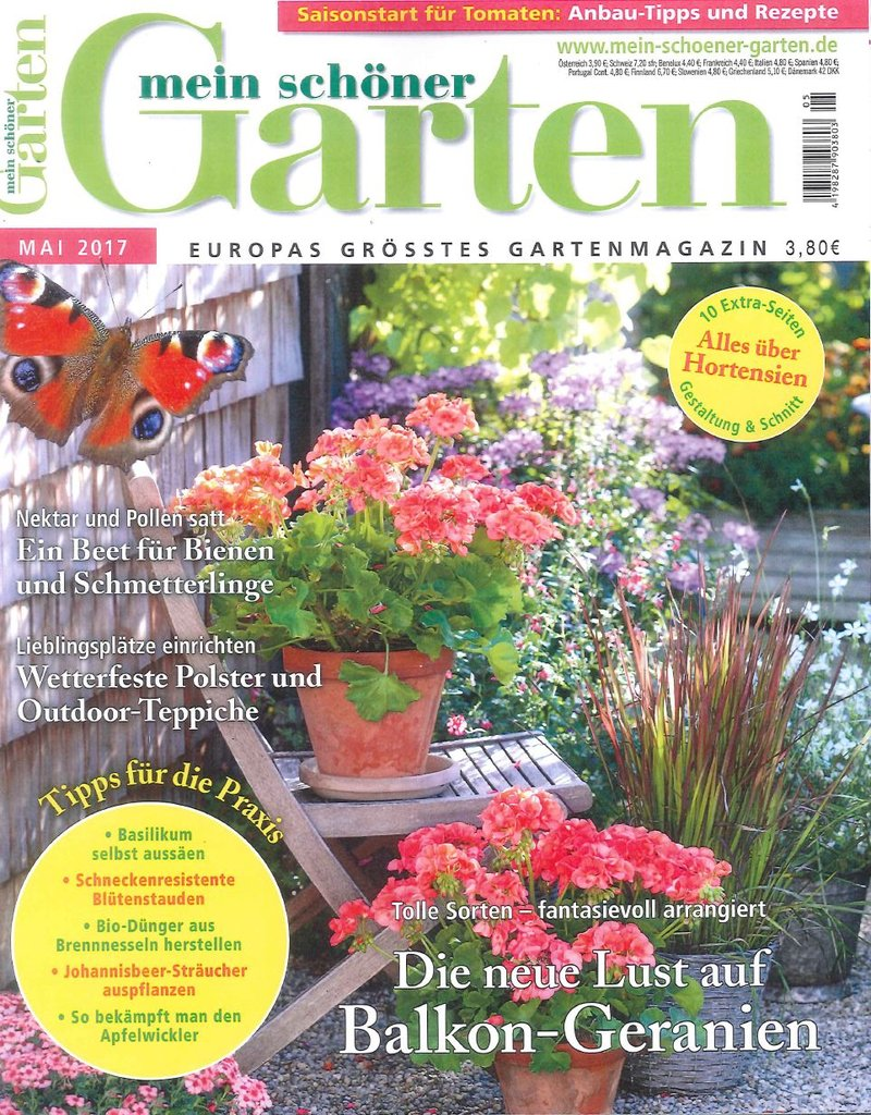 Duitsland meinschonergarten april 2017 cover