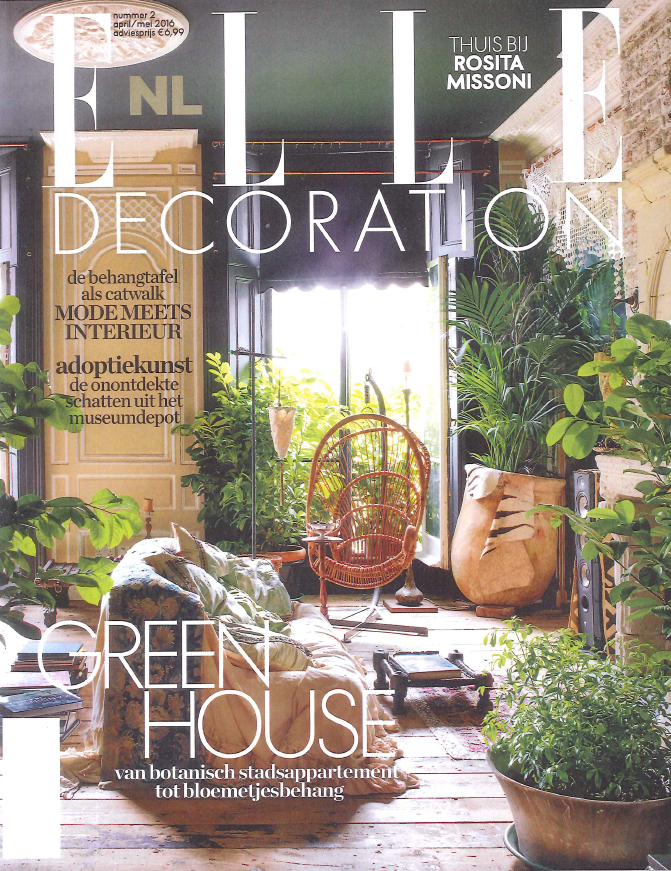 Nederland elledecoration lampieon april 2016 cover
