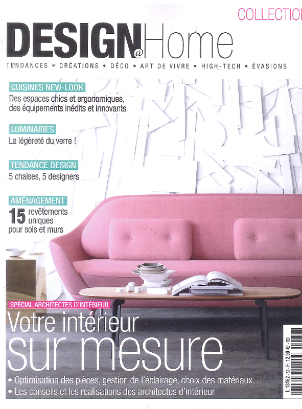 Frankrijk designhome april 2016 cover