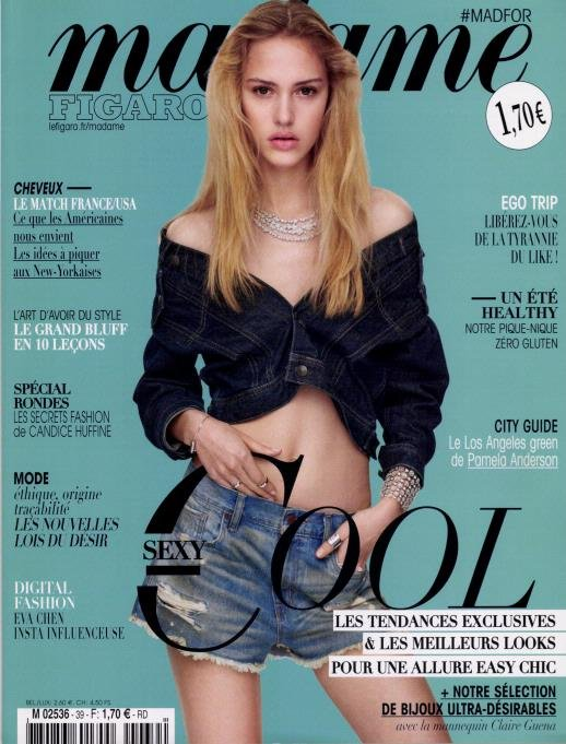 Frankrijk madamefigaro april 2016 cover
