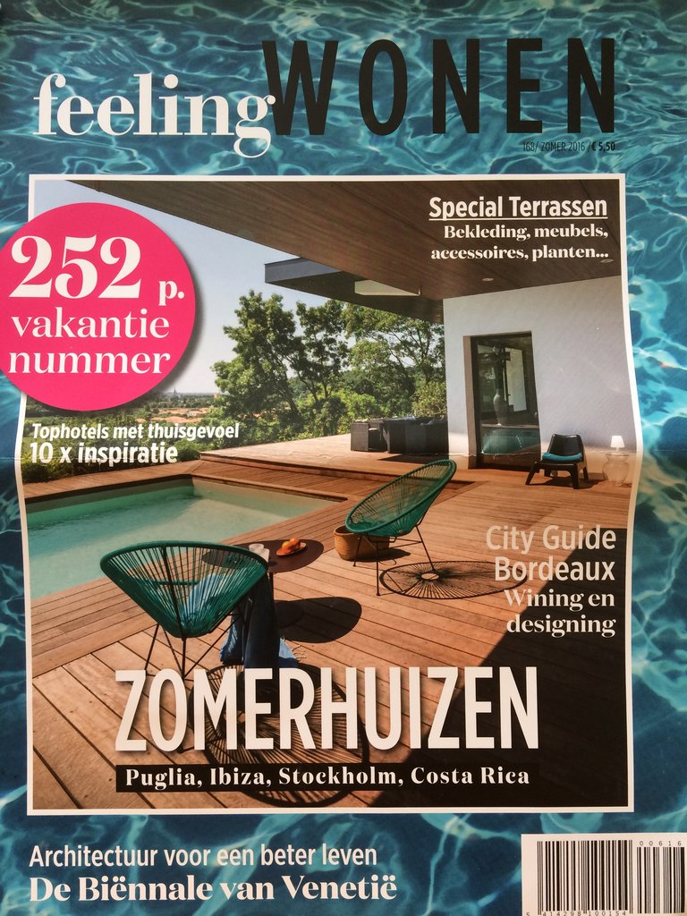 Be feelingwonen juli 2016 cover