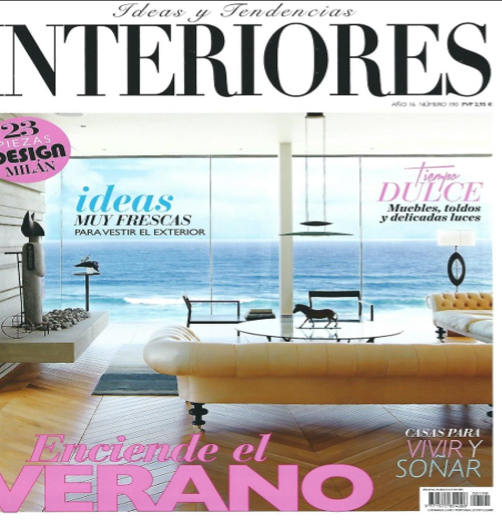Spanje interiores august 2016 cover