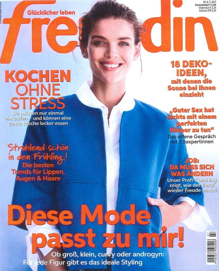 Duitsland freundin april 2017 cover